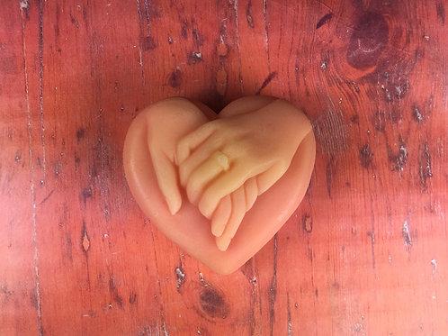 Glycerínové mydlo červený pomaranč 80g