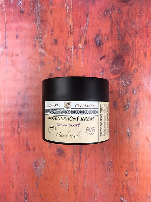Regeneračný levanduľový krém s arganovým olejom 50 ml
