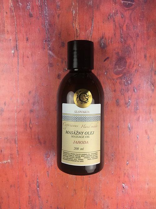 Mandľový olej jahoda 200 ml