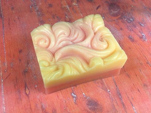 Glycerínové mydlo červený pomaranč 85g