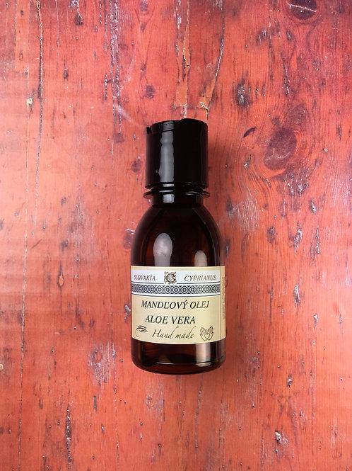 Mandľový olej aloe vera 100 ml