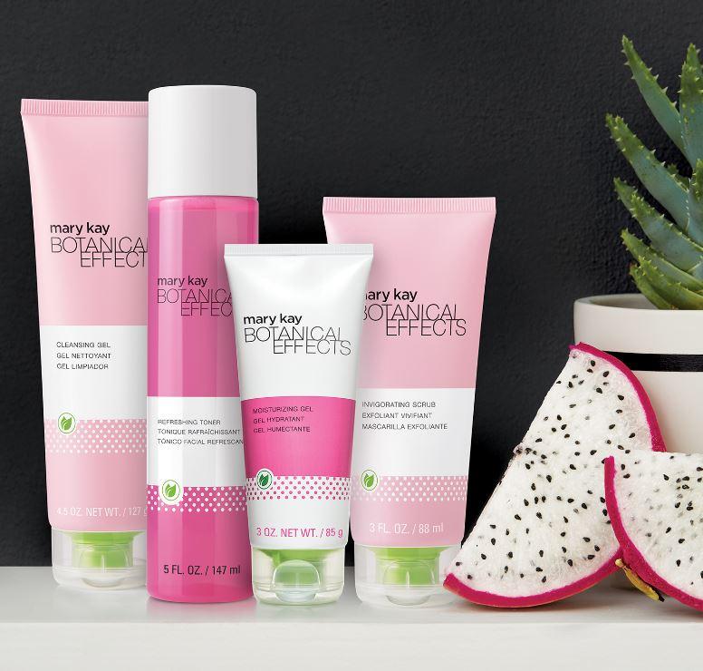 botanical skincare line
