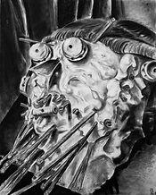 c.p. sketch, video game art