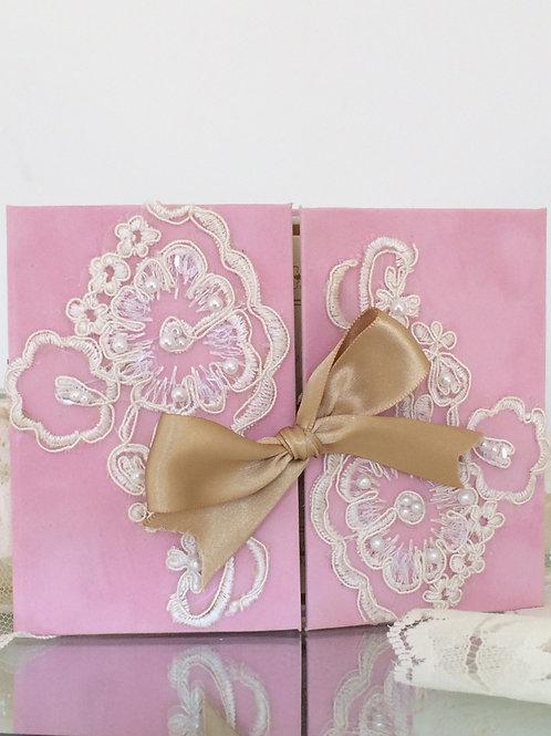 Pink Velvet Lace