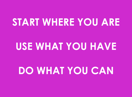 3 Simple Things You CAN DO When It Seems Like There's Nothing You Can Do