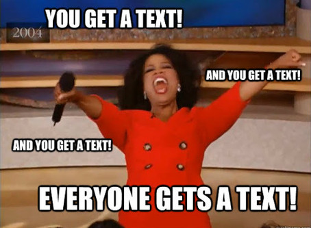 Texting, Texting...What Happened to Talking?