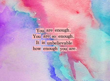 When Is...Enough, ENOUGH?