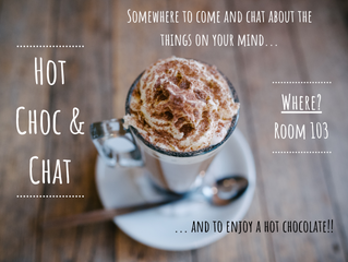 New Lunch Club: Hot Choc & Chat