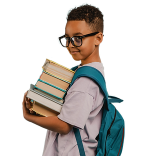 side-view-school-boy-holding-pile-books.