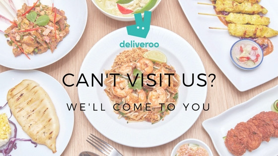 WE'RE NOW BACK ON DELIVEROO!