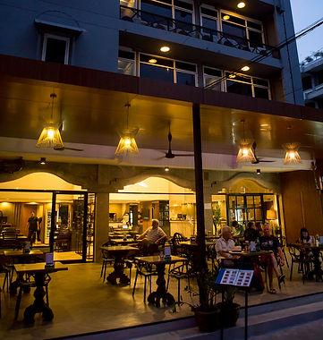 Beer bar at Maxim's Inn, heart of Bangkok