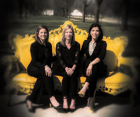 Vybrence speech-language pathologists sitting on yellow couch