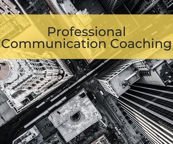 Professional Communication Coaching