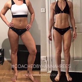 Body Transformation by Hannah Rees