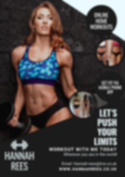Hannah Rees Home Online Personal Trainer