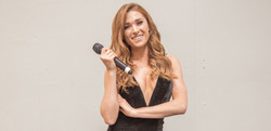 Presenter Hannah Rees