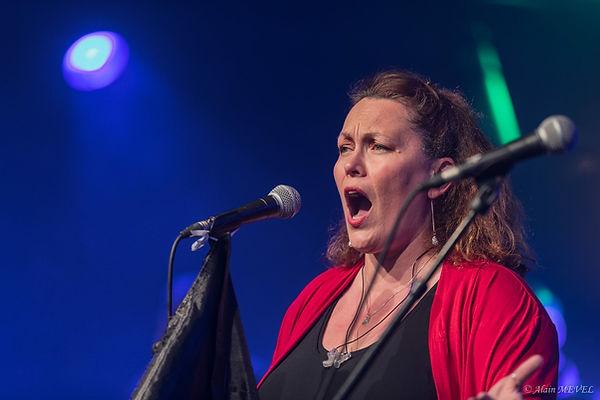 Adeline Sencey Guillemot Chant sur scène