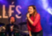 Laurine Bassignani Chant sur scène