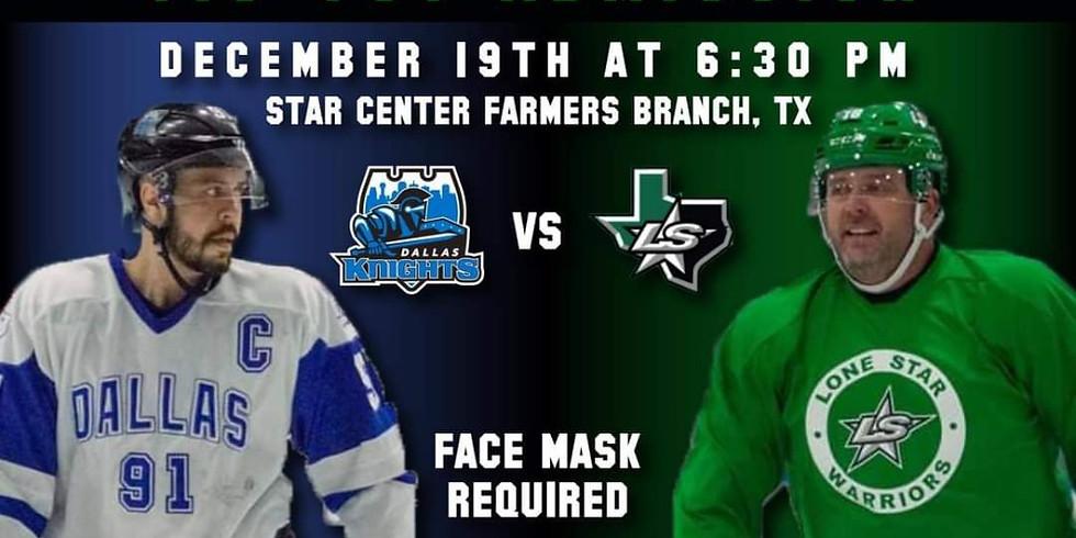 Charity Game: Dallas Knights vs Lone Star Warriors