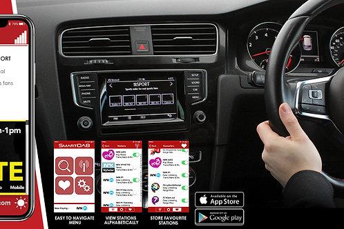 SmartDab by AutoDab - Add DAB to your exsisting car audio system.