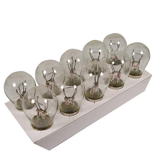 Box of 10 x 380 Dual Filament, Stop/Tail - 21/5W Bulbs (BAY15D)