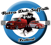 Retro Dub Suffolk VW Festival Logo