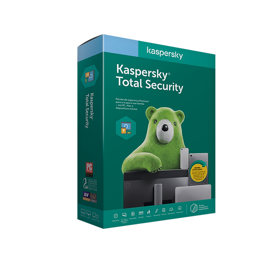Kaspersky Total Security - Home Product.