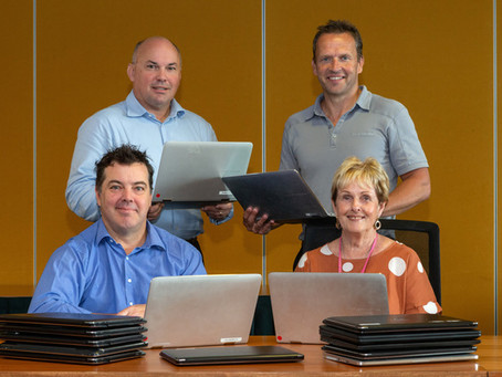 Laptop gifts fill learning gap