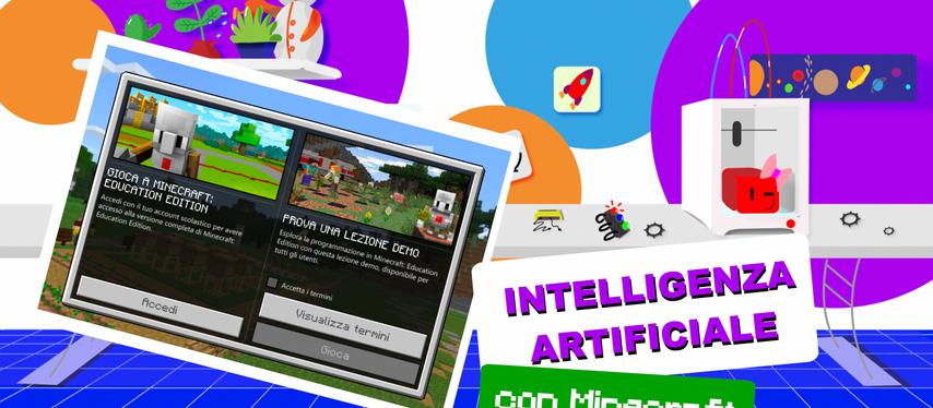 Alla scoperta dell'Intelligenza Artificiale con Minecraft