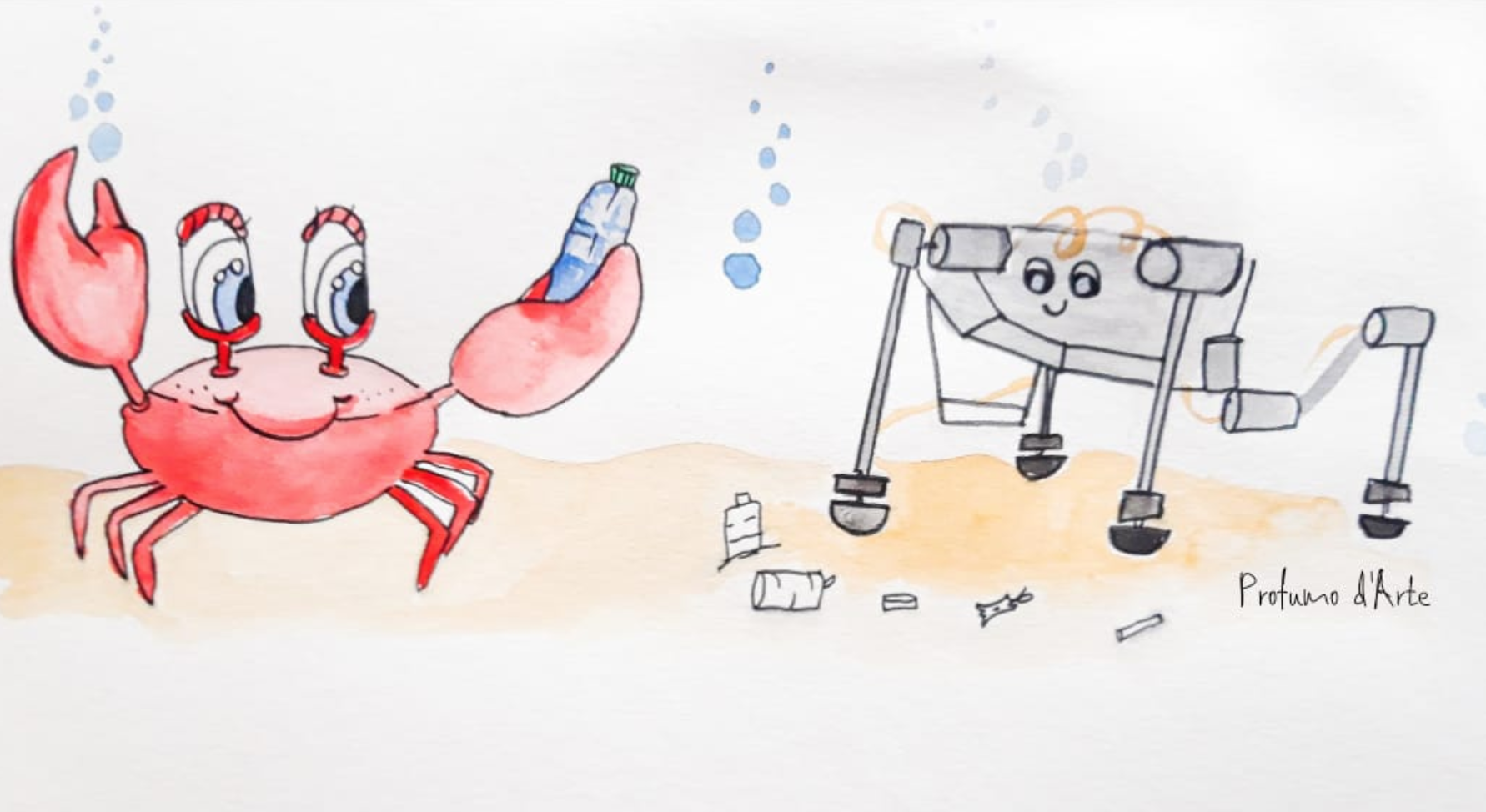 Granchio robot_Giovanna Mancusi