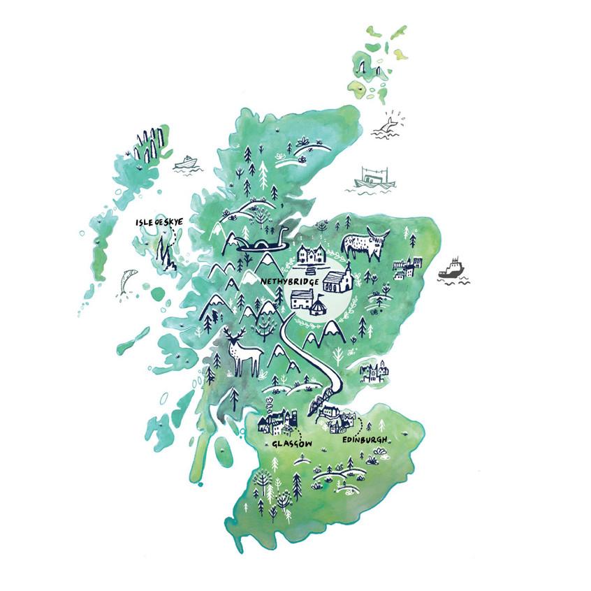Scotland, a wedding commission.