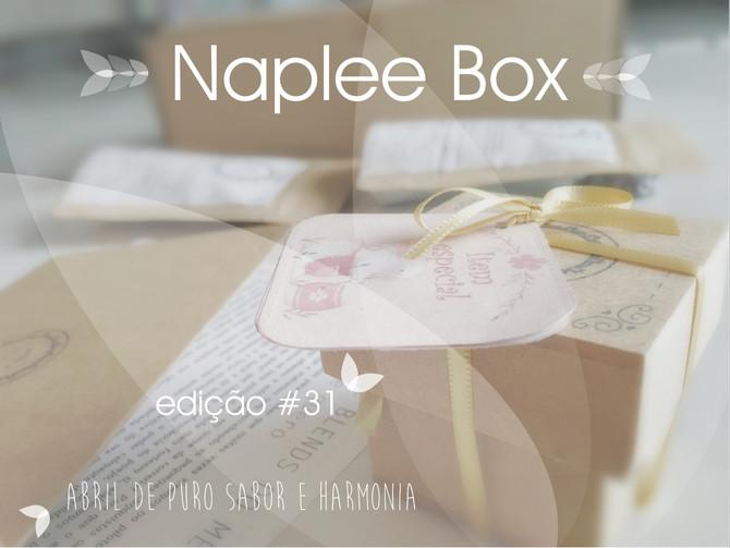 Desvendando a box Naplee tea                       edição #31     - abril 2019