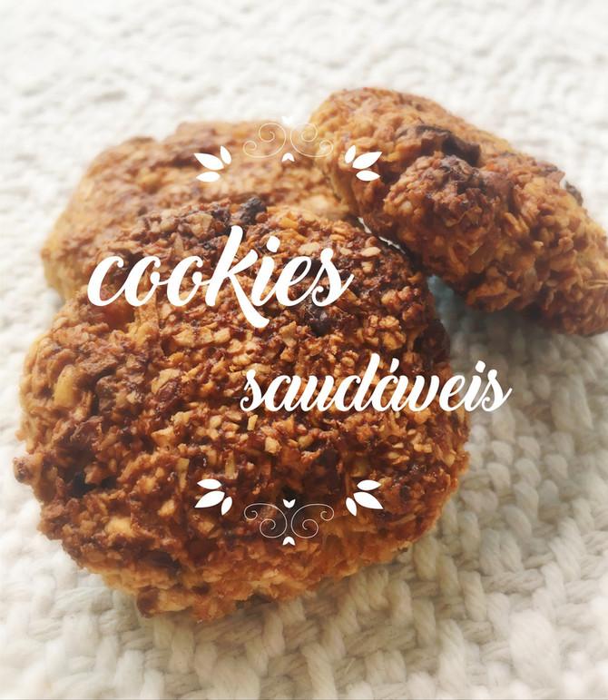 Cookies saudáveis para acompanhar seu chá