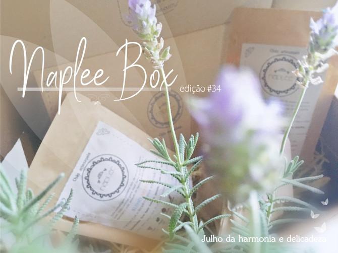 Desvendando a box Naplee tea                       edição #34     - julho 2019