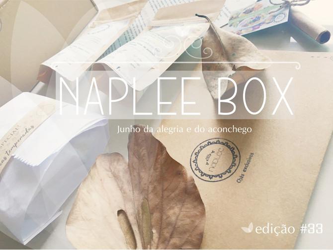 Desvendando a box Naplee tea                       edição #33     - junho 2019