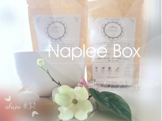 Desvendando a box Naplee tea                       edição #32     - maio 2019