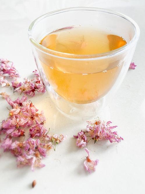 Copo de chá vidro duplo
