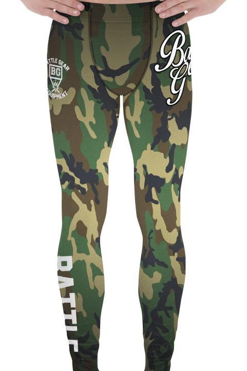 Tactico Camouflage NO GI MMA Spats Leggings
