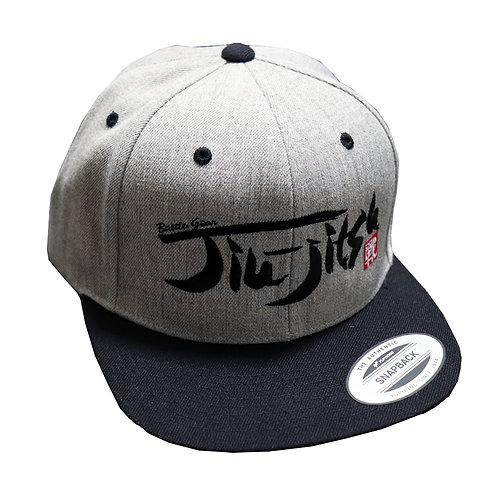 Jiu jitsu Grey Snap Back Cap