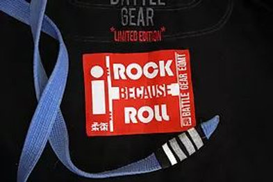 I Rock Because I Roll Patch 2019 Woven Patch