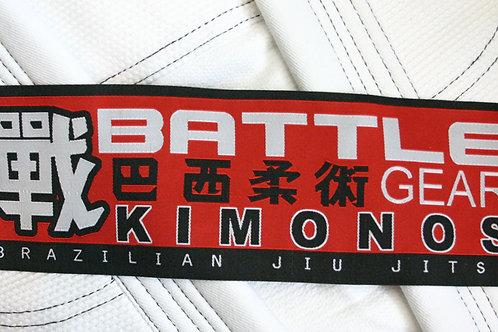 Battle Gear Woven Kimono Patch