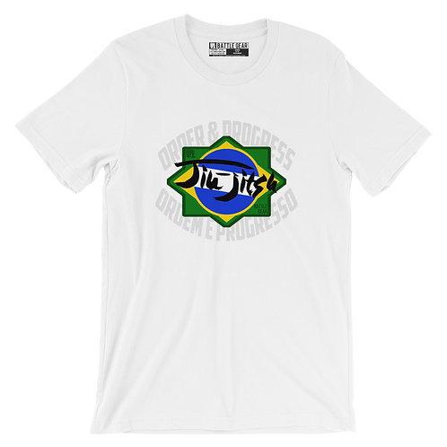 Order & Progress Brazil Unisex T shirt