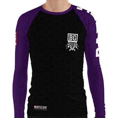 V3 Purple Long Sleeve NO GI / MMA Rashguard