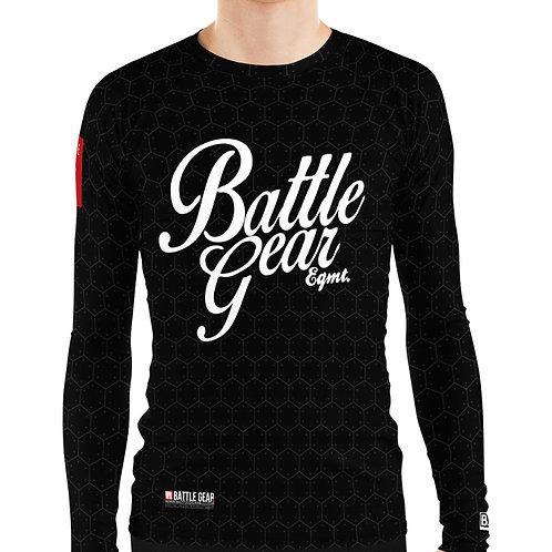 Battle Gear Fundamental Black Long Sleeve NO GI MMA Rashguard