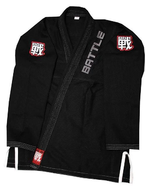 WARRIOR MK2 BJJ Brazilian Jiu Jitsu Black Kimono / Gi