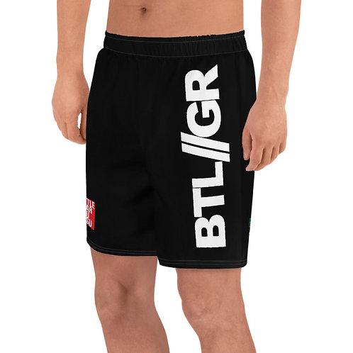 REG Mid Thigh Grappling Shorts Black