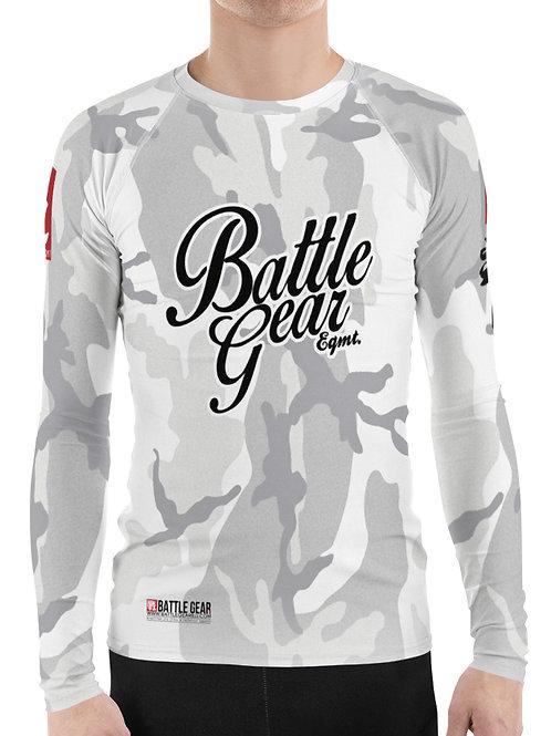 V4 White Camouflage Long Sleeve NO GI MMA Rashguard