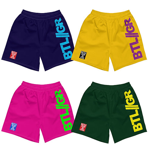 COLOURS Mid Thigh Grappling Shorts - 4 colours