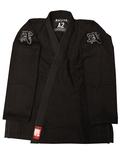 CORE 350 BJJ Brazilian Jiu Jitsu Black Ultra Lightweight Kimono / Gi