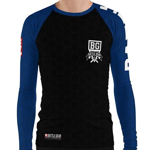 V3 Blue Long Sleeve NO GI / MMA Rashguard